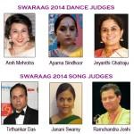 SwaRaag 2014 Judges